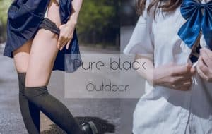 [Pure系列] pure black outdoor