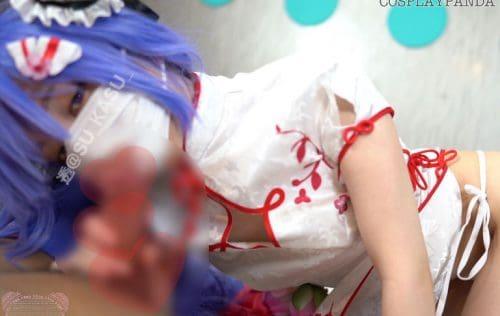 【動画】ピュッ♡ピュ♡のお手伝いなのです♡ユニコーンちゃんのチャイナドレス激エロフェラ【アズールレーン】天安门