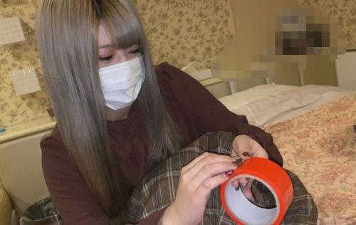 FC2-PPV-1536391 今日まで【無】快楽と苦しみ。派手髪女子にデカチン激ピス連続中出し③(61分)